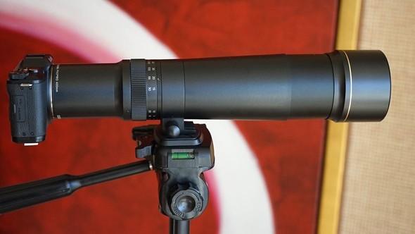 Kodak S1 + 400 mm teleobjektív