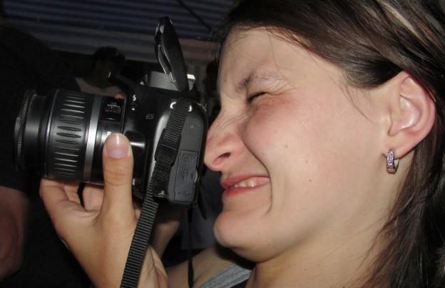 Fotenie cez optický hľadáčik