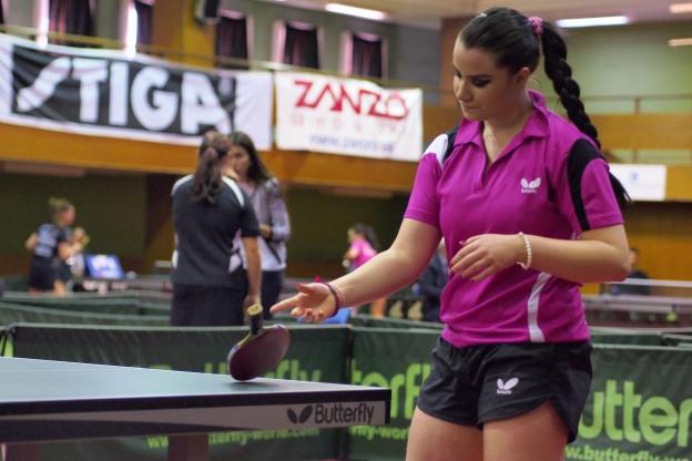 Majstrovstvá SR 2014 v stolnom tenise - Kaja Polyáková