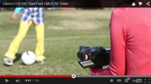 Držanie zrkadlovky: u videa