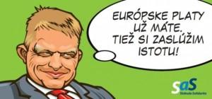 "Billboard SAS: ""tiež si zaslúžim istotu"" Zdroj: strana-sas.sk"