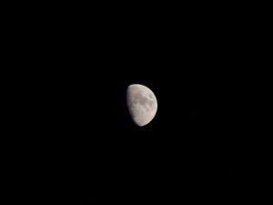 mesiac na 600mm EQ